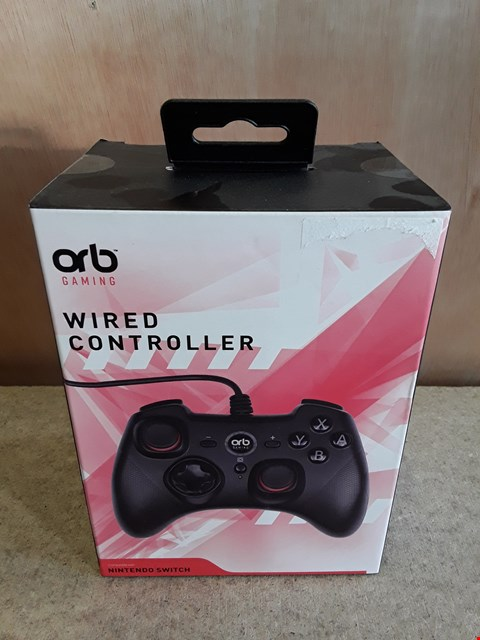 Lot 147 BRAND NEW BOXED ORB WIRED CONTROLLER FOR NINTENDO SWITCH