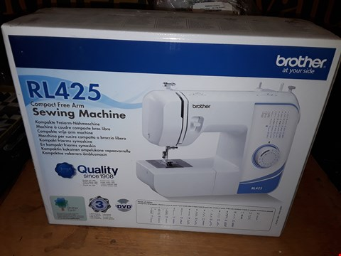 Lot 6145 BOXED BROTHER RL425 COMPACT FREE ARM SEWING MACHINE