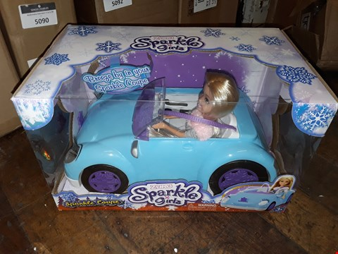 Lot 5091 SPARKLE GIRLS WINTER DOLLS