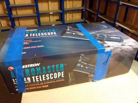 Lot 946 CELESTRON 31045 ASTROMASTER 130EQ REFLECTOR TELESCOPE