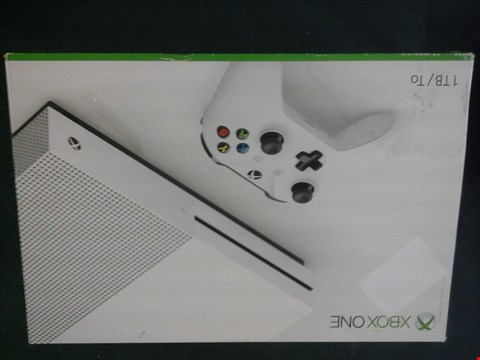 Lot 1049 BOXED XBOX ONE 1TB GANES CONSOLE RRP £429
