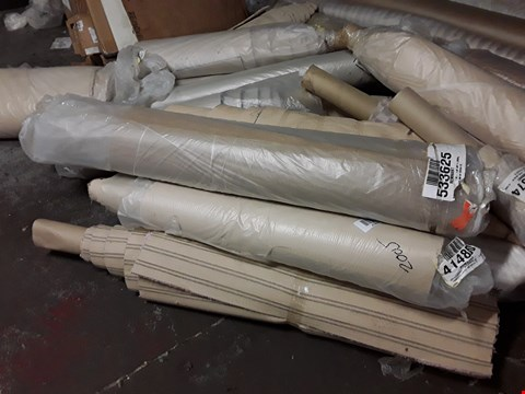 Lot 1869 LOT OF APPROXIMATELY 15  ASSORTED DESIGNER CARPET ROLLS INCLUDING 4MX0.88M SILVER VALLEY ROLL, 1MX4M COCOA ROLL