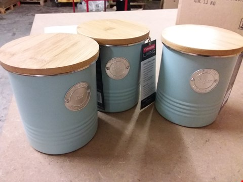 Lot 71 TYPHOON LIVING KITCHEN CANISTER SET RRP £40