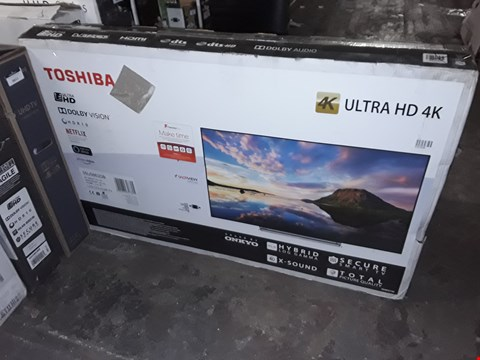 "Lot 3650 TOSHIBA 55U5863DB 55"" UHD LED TELEVISION"