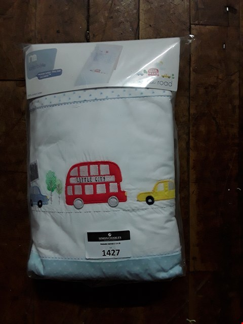 Lot 1427 BRAND NEW MOTHERCARE CRIB BALE RRP £50