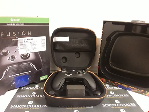 Lot 17572 POWERA FUSION PRO WIRED CONTROLLER FOR XBOX ONE, ONE S AND ONE X