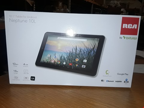 Lot 4156 BOXED RCA NEPTUNE 10L TABLET 10INCH 16GB