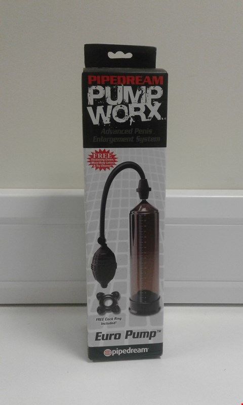 Lot 10009 BOXED PIPEDREAM PUMP WORX ADVANCED PENIS ENLARGEMENT SYSTEM EURO PUMP