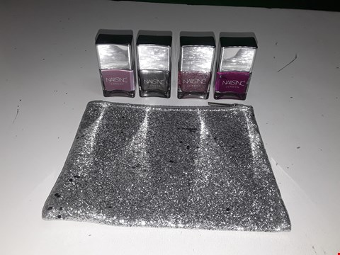 Lot 1111 2 X NAILS INC 3 PIECE SEEING STARS COLLECTION