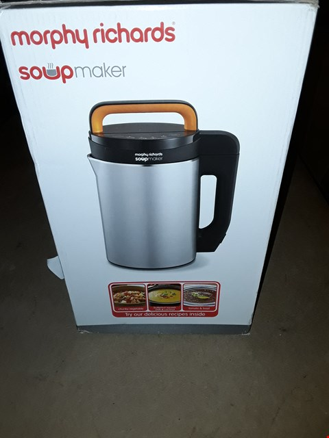 Lot 352 MORPHY RICHARDS 1.6L SOUPMAKER