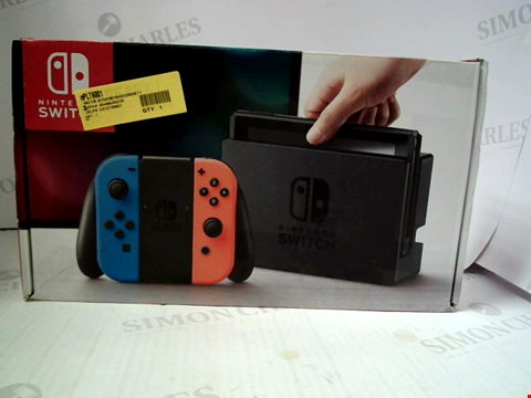 Lot 3084 NINTENDO SWITCH GAMES CONSOLE