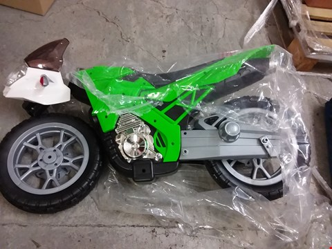 Lot 189 BOXED GRADE 1 VOLT 6V BATTERY OPERATED MOTORBIKE RRP £132