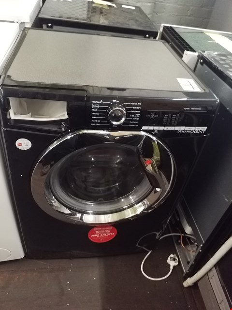Lot 8559 HOOVER DXOC410C3B 10KG WASHING MACHINE  RRP £359.00