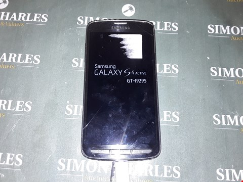 Lot 4833 SAMSUNG GALAXY S4 ACTIVE MOBILE PHONE 16GB
