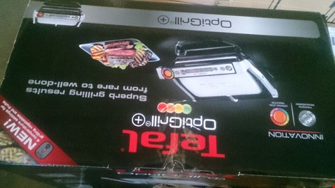 Lot 1115 BOXED TEFAL OPTIGRILL