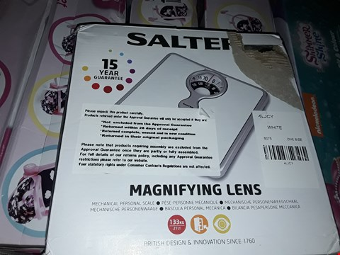 Lot 6081 BOXED SALTER COMPACT MECHANICAL SCALES GRADE 1 RRP £17.99