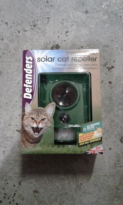Lot 41 MEGA-SONIC SOLAR CAT REPELLER