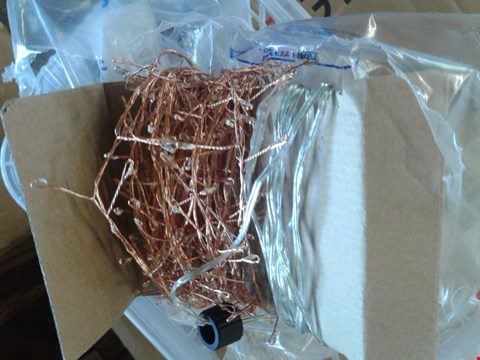 Lot 48 2 PACKETS OF MAINS OUTDOOR LGT COPPER