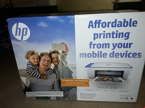 Lot 324 LOT OF 2 HP PRINTERS TO INCLUDE DESKJET 2630 AND OFFICEJET 3831