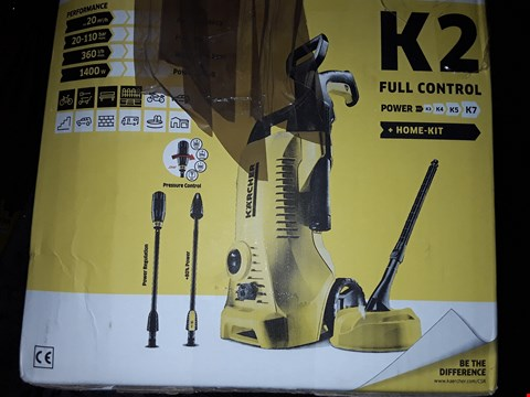 Lot 12543 KARCHER K2 FULL CONTROL PRESSURE WASHER