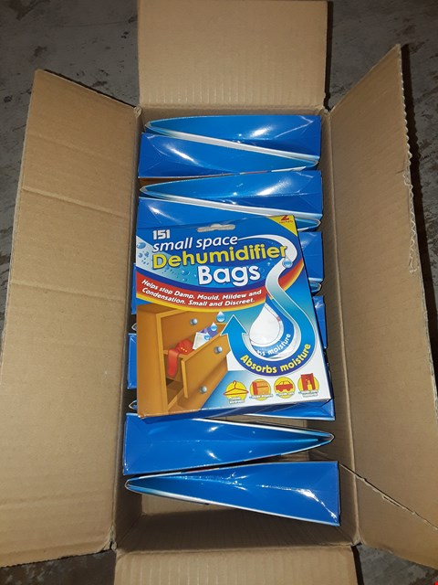 Lot 2603 BOX OF APPROXIMATELY 12 DEHUMIDIFIER BAGS