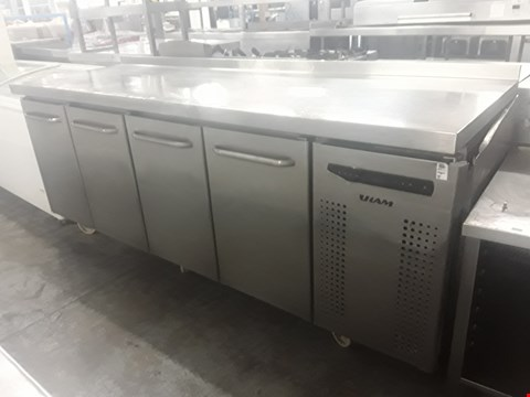 Lot 73 COMMERCIAL 4 DOOR REFRIGERATION UNIT