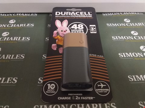 Lot 1048 DURACELL RECHARGEABLE POWER BANK