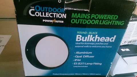 Lot 4 3 BOXED VBLUKHEAD OUTDOOR LIGHTING ITEMS
