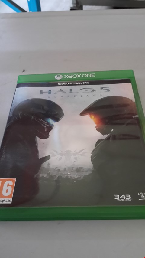 Lot 9022 HALO 5 GUARDIANS FOR XBOX ONE
