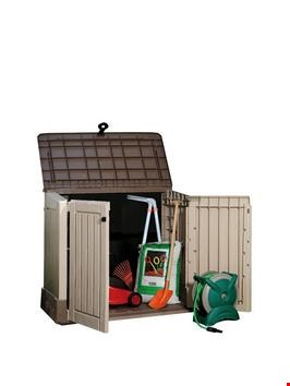 Lot 10386 KETER WOODLAND 30 SHED RRP £154