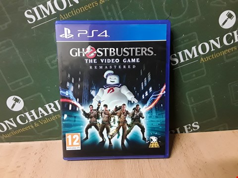 Lot 14881 GHOSTBUSTERS REMASTERED GAME FOR PS4 RRP £54.99