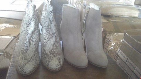 Lot 7024 BOX OF 8 ASSORTED LADIES SOLE DIVA BOOTS