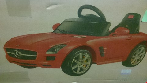Lot 1542 BOXED MERCEDES BENZ SLS AMG ELECTRIC RIDE ON