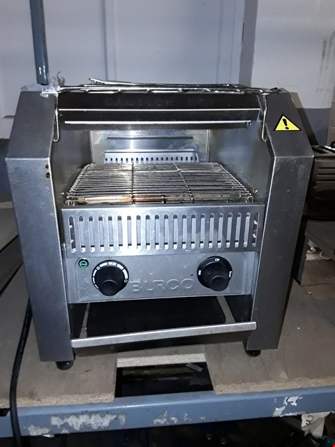 Lot 63 BURCO TSCNV01 CONVEYOR BELT TOASTER.