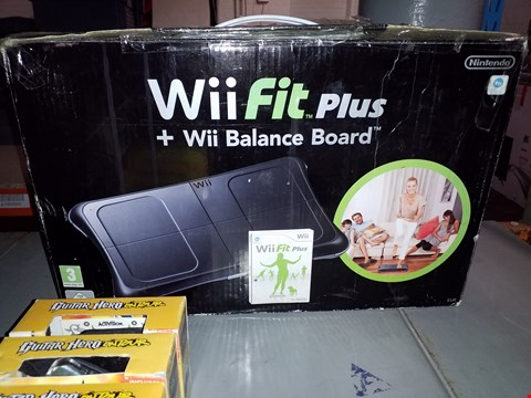 Lot 291 BOXED WII FIT PLUS + WII BALANCE BOARD