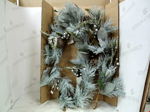 Lot 13135 BOXED LIT CONE GARLAND  RRP £32.99