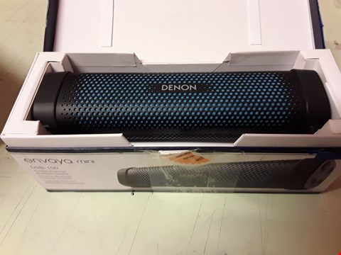 Lot 4168 DENON ENVAYA MINI PORTABLE PRIMEUM BLUETOOTH SPEAKER