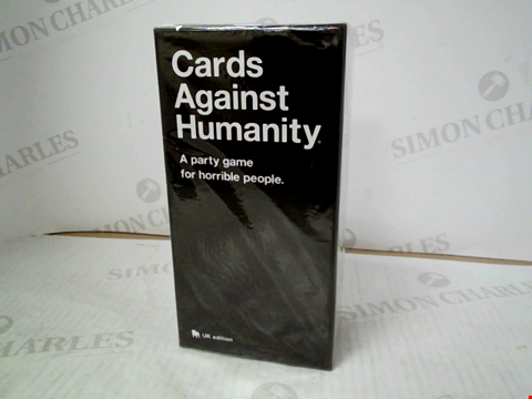 Lot 3121 CARDS AGAINST HUMANITY - UK EDITION