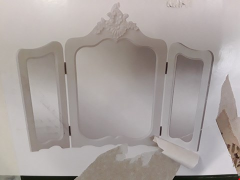 Lot 2044 BOXED TRIPLE DRESSING TABLE MIRORS