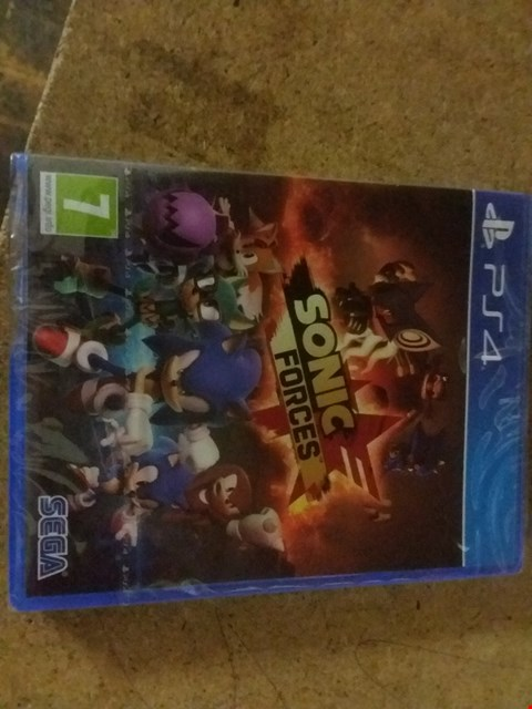 Lot 2564 SONIC FORCES FOR PS4