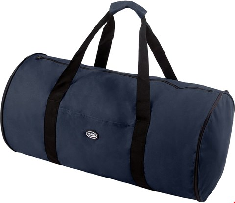 Lot 9125 BOX OF APPROXIMATELY 30 FLYGEAR LARGE ULTRA-LIGHTWEIGHT FOLD AWAY HOLDALL IN NAVY