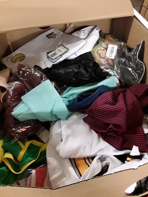 Lot 604 CAGE OF ASSORTED UNPROCESSED ADULT CLOTHING
