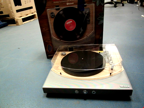 Lot 1785 ION PREMIER LP WIRELESS TURNTABLE WITH BLUETOOTH