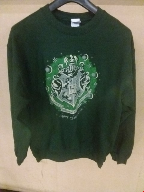 Lot 5084 BRAND NEW BAGGED MEDIUM HARRY POTTER - HAPPY HOGWARTS SWEATSHIRT