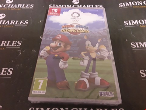 Lot 1775 MARIO & SONIC AT THE OLYMPIC GAMES TOKYO 2020 NINTENDO SWITCH GAME