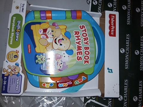 Lot 7793 FISHER-PRICE STORYBOOK RHYMES