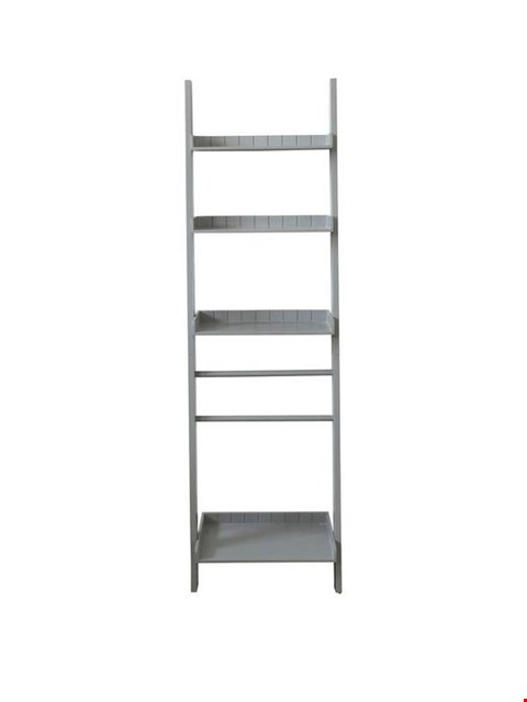 Lot 164 BOXED PAINTED WALL LEANING SHELF - GREY (1 BOX)  RRP £89.99