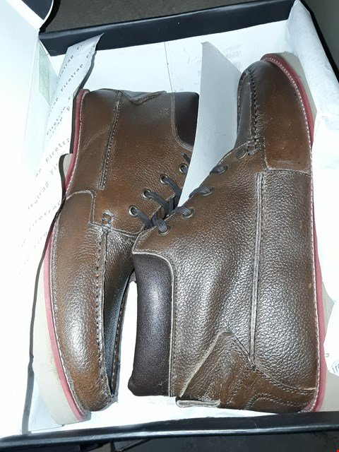 Lot 2004 3 PAIRS OF FIRETRAP NORTH BROWN SIZE 12  RRP £60