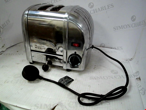Lot 11039 DUALIT CLASSIC TOASTER