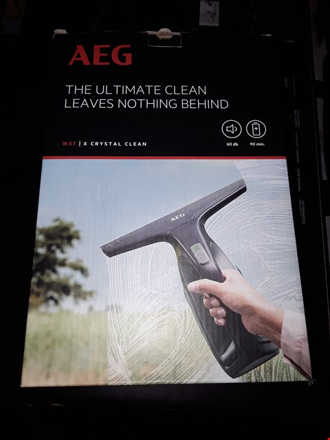 Lot 19 BOXED AEG WX7 WINDOW CLEANER